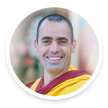 Guen Kelsang Sherab Monje Budista Maestro de meditación y mindfulness en Huelva